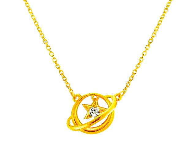 金項鍊-小宇宙