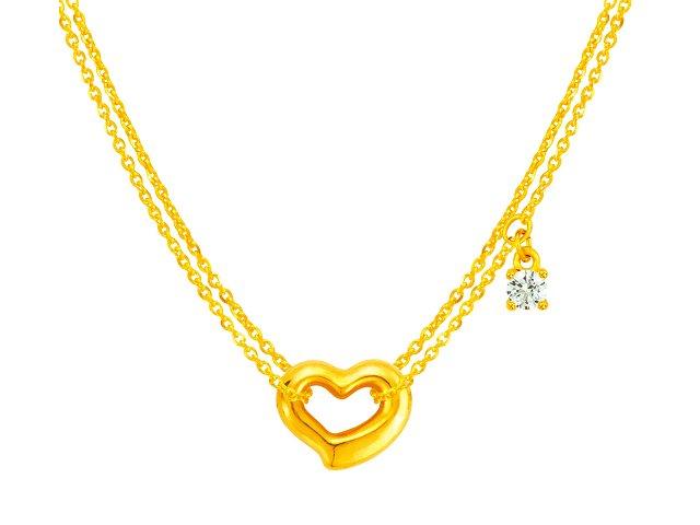 金項鍊-好愛妳