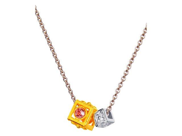 珠寶盒-金銀配項鍊