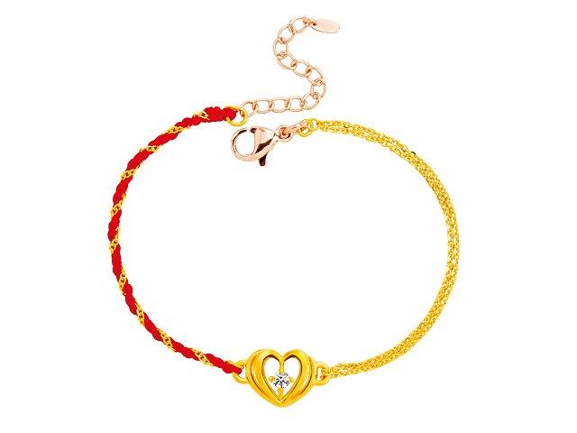 編織手鍊-親愛的-紅