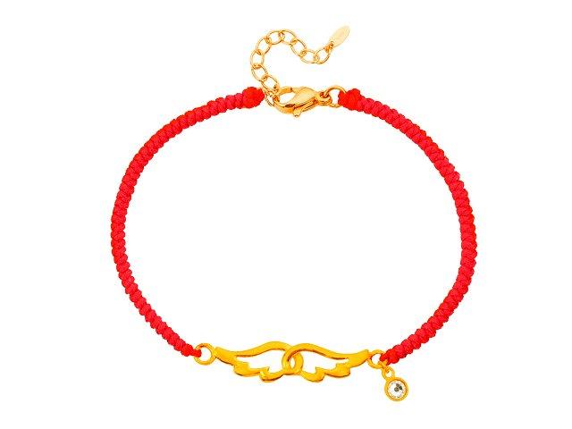 愛自由-編織手鍊