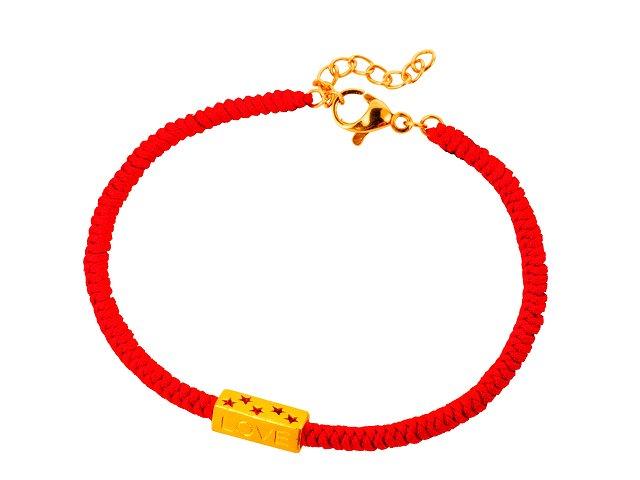 愛的星願-編織手鍊