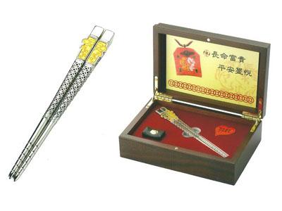 金筷子(白K)