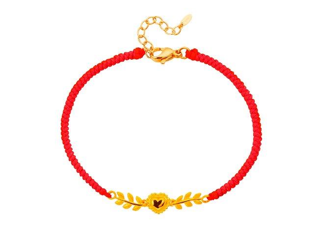 愛蔓延-編織手鍊